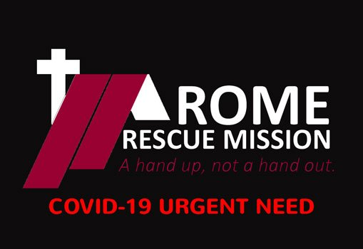 Rome Rescue Mission response to COVID-19
